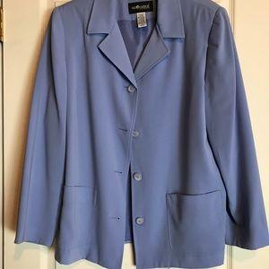 Sag Harbor Light Blue Blazer Size 16W